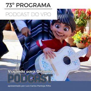 Viajando para Orlando – Podcast – 73