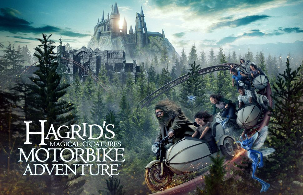 Hagrid's Magical Creatures Motorbike Adventure será inaugurada no dia 13 de junho