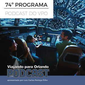 Viajando para Orlando – Podcast – 74