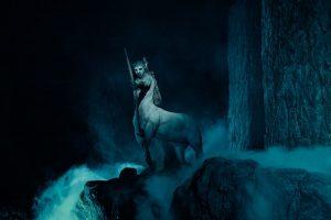 Centauro na atração Hagrid's Magical Creatures Motorbike Adventure