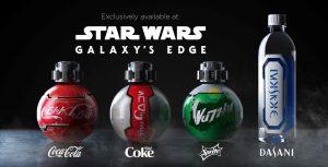 A Coca-Cola terá produtos exclusivos em Star Wars: Galaxy's Edge