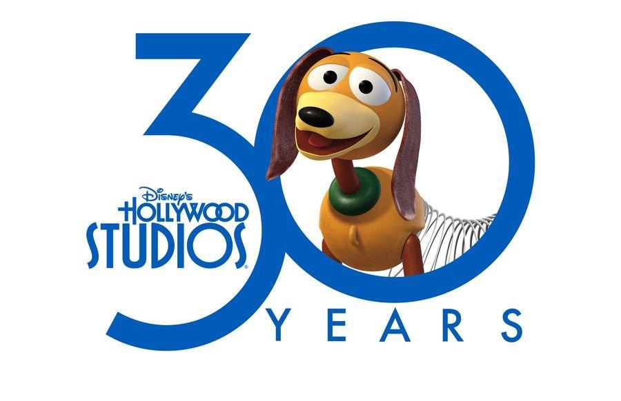 Destalhes da comemoração do aniversário de 30 anos do Hollywood Studios
