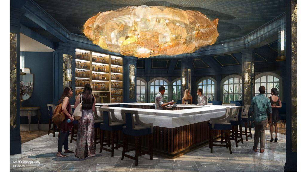 Disney's Grand Floridian Resort & Spa terá bar inspirado na Bela e a Fera
