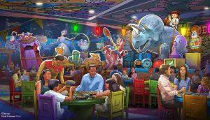 Um novo restaurante com tema de rodeio está chegando à Toy Story Land