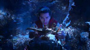 Prévia de Aladdin na atração Walt Disney Presents