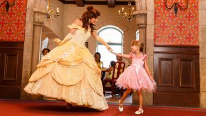 Refeição com as princesas da Disney no Akershus Royal Banquet Hall