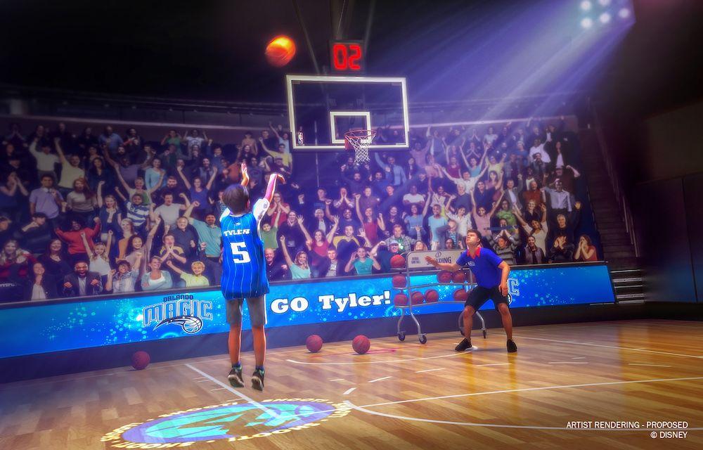 Ingressos à venda para o NBA Experience de Disney Springs!