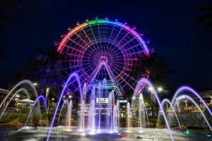ICON Park agita as noites de Orlando