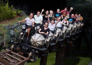 A montanha-russa Hagrid's Magical Creatures Motorbike Adventure já foi inaugurada