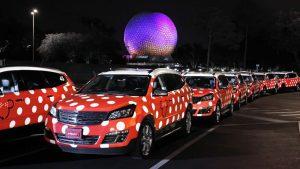 Mais de 1 milhão de visitantes já foram transportados pelo Minnie Van Service