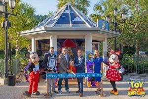 Toy Story Drop! Experience em Disney Springs
