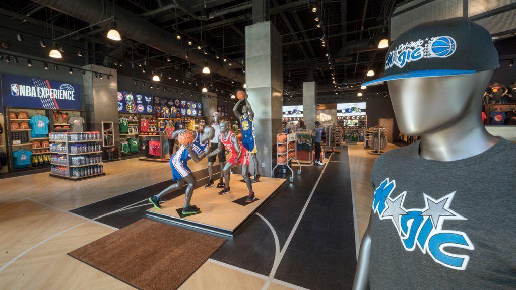 NBA Store já foi inaugurada em Disney Springs