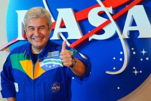 Conheça o Astronauta Marcos Pontes no NASA Kennedy Space Center Visitor Complex
