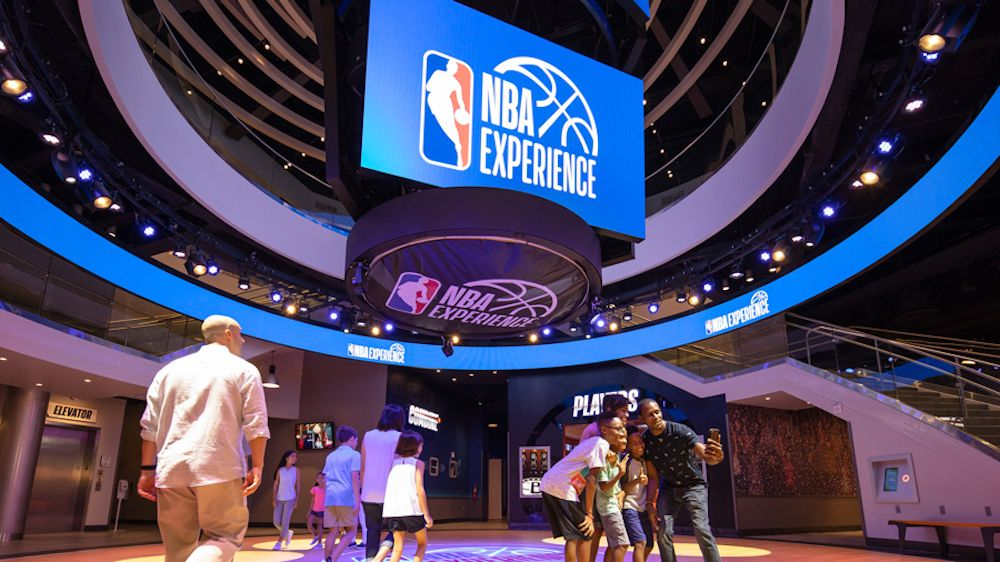 Primeiras impressões sobre o NBA Experience