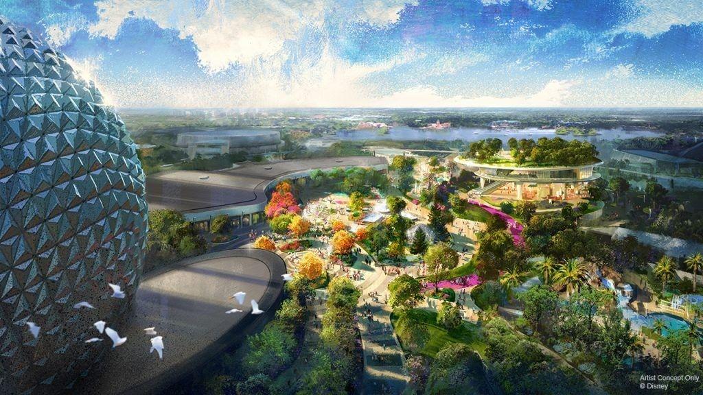 Novos detalhes revelados  sobre a transformação do parque Epcot
