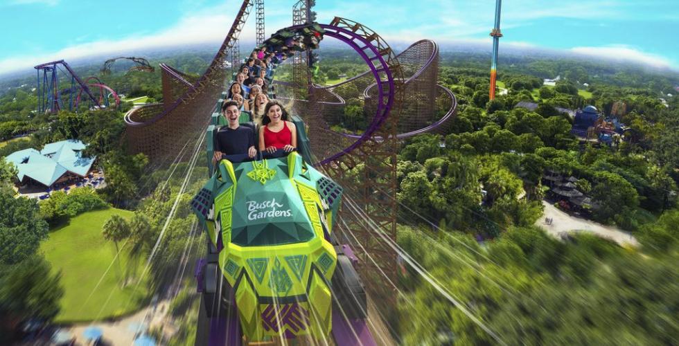 Seaworld Orlando e Busch Gardens Tampa Bay anunciam detalhes das novas montanhas-russas