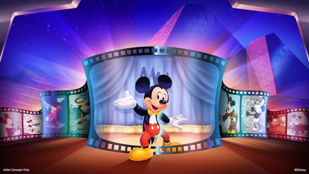 Mickey Mouse receberá os convidados no Imagination Pavilion em 2020