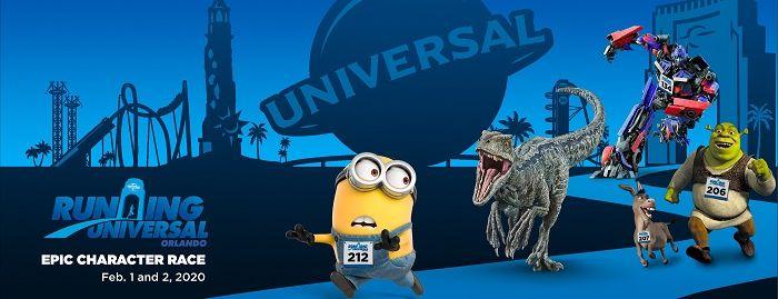 Revelados os personagens que participarão do evento Running Universal's Epic Character Race