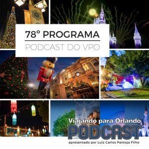 Viajando para Orlando – Podcast – 78