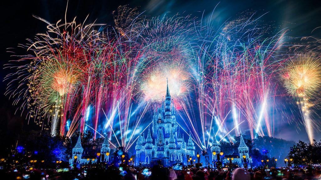 "Fantasy in the Sky Fireworks"" live from Magic Kingdom Park"