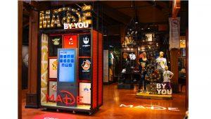 Crie mercadorias personalizadas da Disney com o sistema MADE