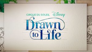 Vídeo: Nos bastidores do espetáculo Drawn to Life