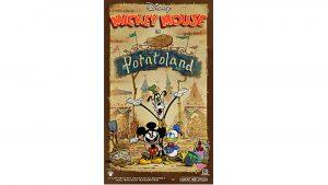 Potatoland é o novo pôster em celebração a inauguração de Mickey & Minnie's Runaway Railway