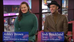 Favoritos da Broadway no Epcot Internacional Festival of the Arts