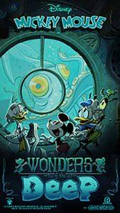 Wonders of Deep é o novo pôster comemorativo da atração Mickey & Minnie's Runaway Railway