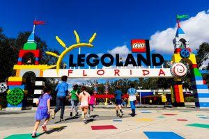 Os parques do Legoland Florida Resort seguem fechados até a metade de abril