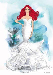 Conheça a nova linha de vestidos de noiva inspirada nas Princesas da Disney