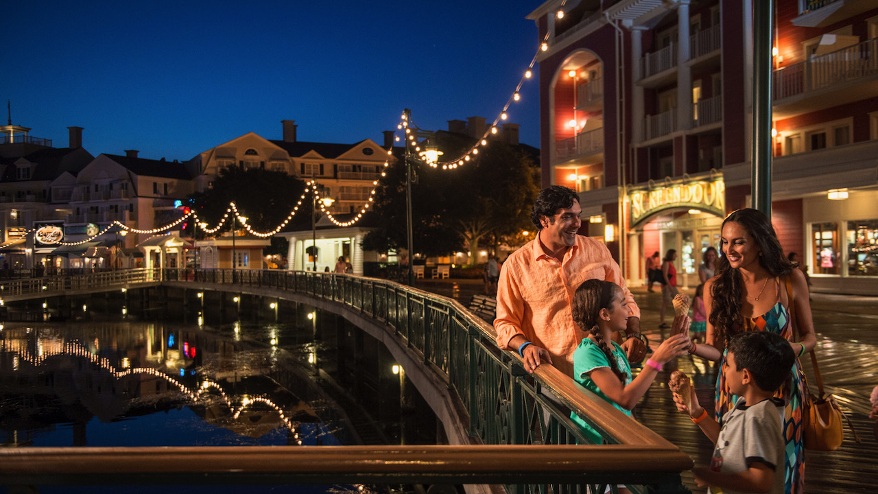 Family at Disney's BoardWalk