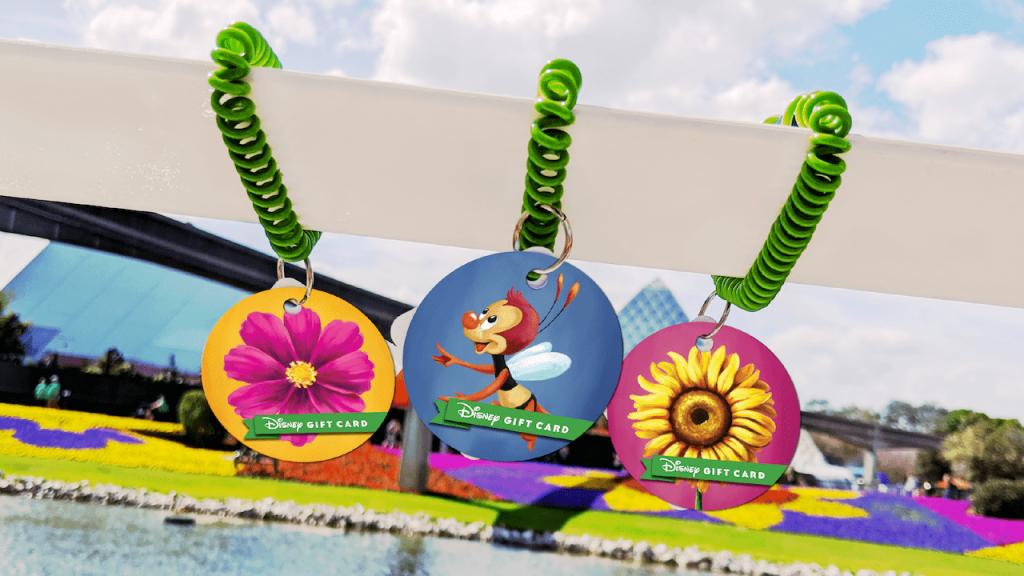 2020 #FreshEpcot Disney Gift Card Designs