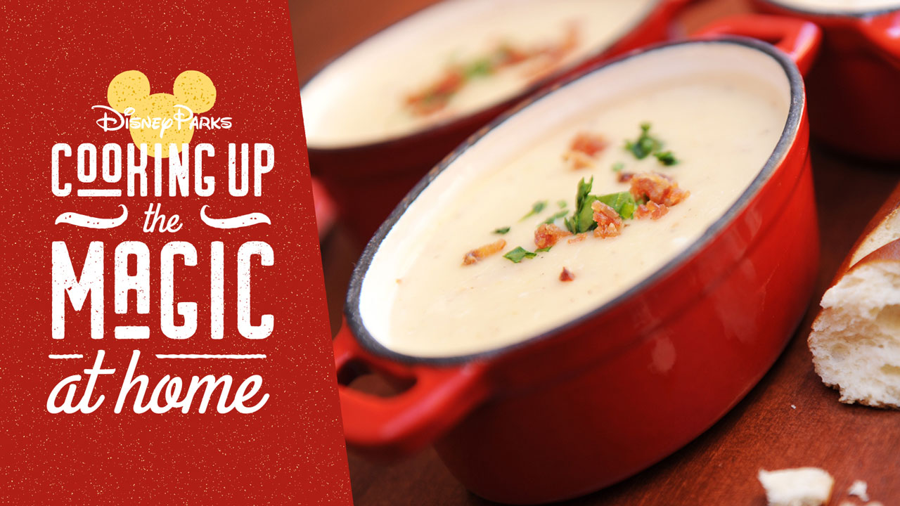 Cooking Up the Magic at Home: The Famous Canadian Cheddar Cheese Soup from Le Cellier Steakhouse at EPCOT