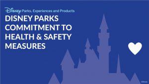 Atualização a respeito das medidas de saúde e segurança no Walt Disney World