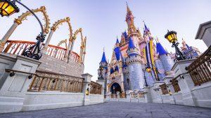 Conheça as novas cores do Cinderella Castle