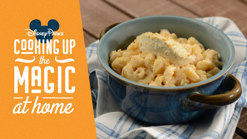 Disney Parks Cooking up the Magic At Home: Gourmet Macaroni and Cheese from Mac & Cheese Hosted by Boursin Cheese for the 2020 Taste of EPCOT International Food & Wine Festival