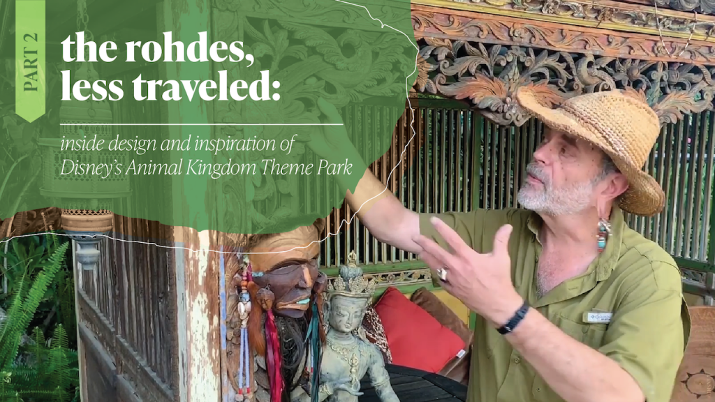 #DisneyMagicMoments: The Rohdes, Less Traveled: Ageing and Patina in Storytelling