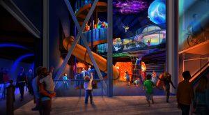 Mais informações sobre a experiência Planet Play do Kennedy Space Center