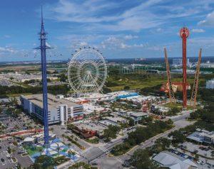 ICON Park Slingshot e ICON Park Drop Tower serão inauguradas no verão norte-americano de 2021