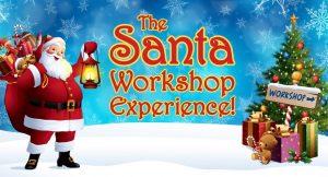 O evento Santa Workshop Experience segue até 24 de dezembro no ICON Park