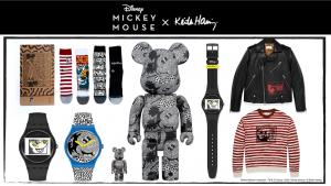 Disney comemora a história do Mickey Mouse e do icônico artista pop Keith Haring