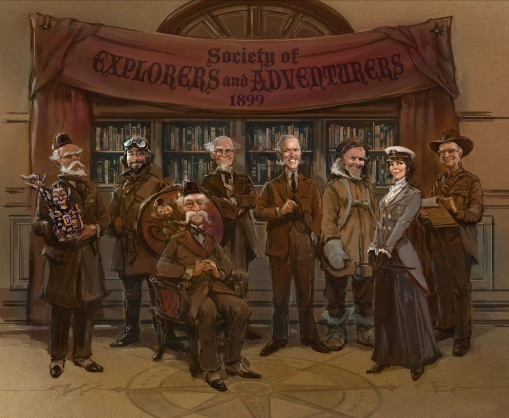 The Society of Explorers and Adventurers