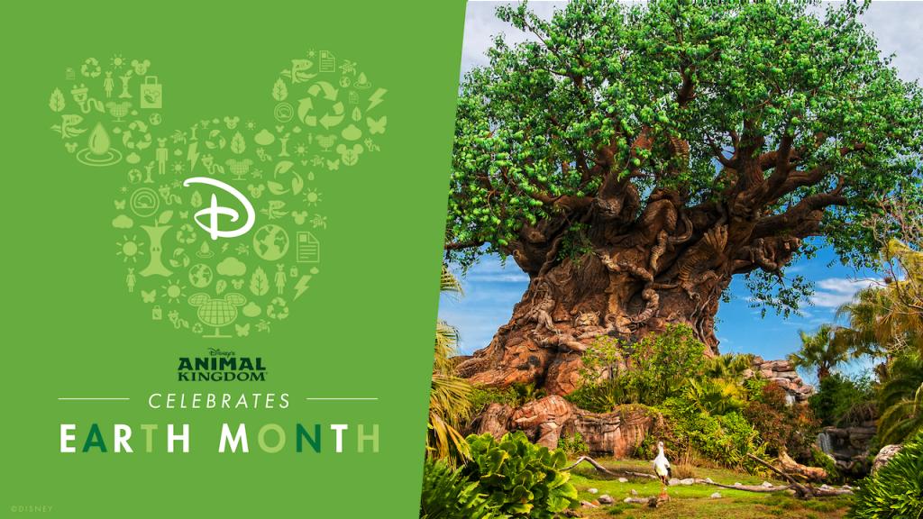 Celebrate Earth Dat at Disney's Animal Kingdom graphic