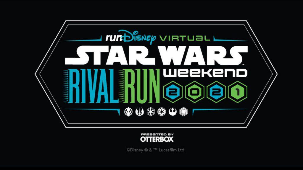 runDisney Virtual 2021 Star Wars Rival Run Weekend graphic