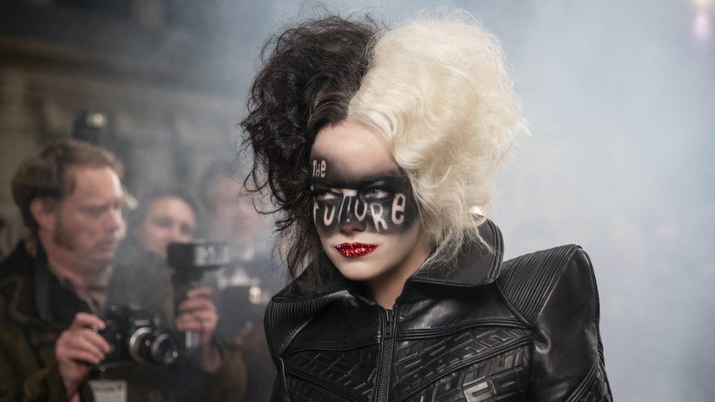 Emma Stone as Cruella in Disneys live-action CRUELLA